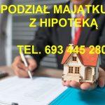 Podział mieszkania jednak bez uwzględnienia kredytu hipotecznego...