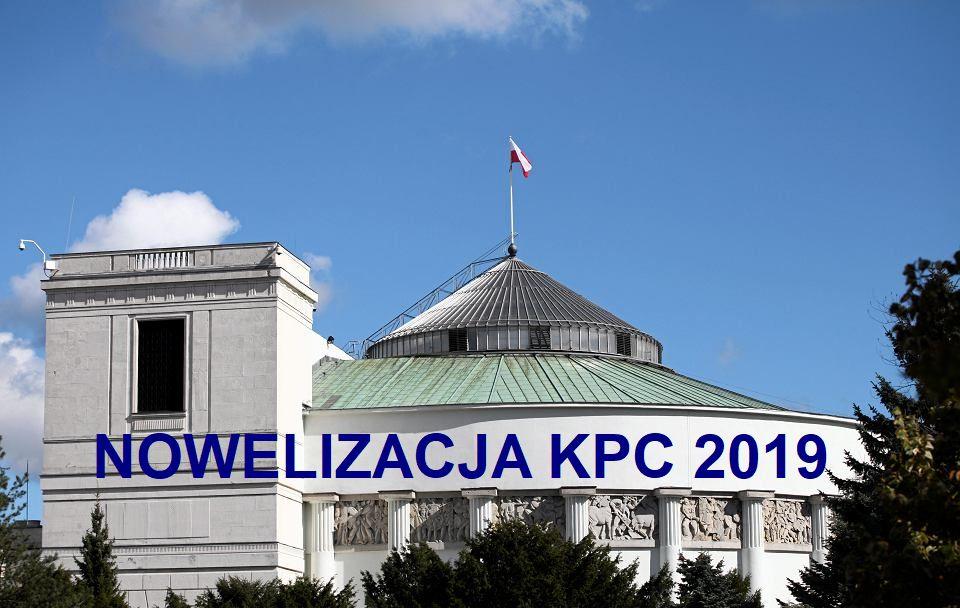 plan rozprawy nowelizacja Kpc 2019